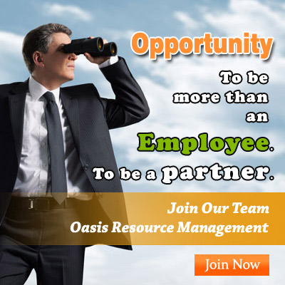 oasis career opportunity