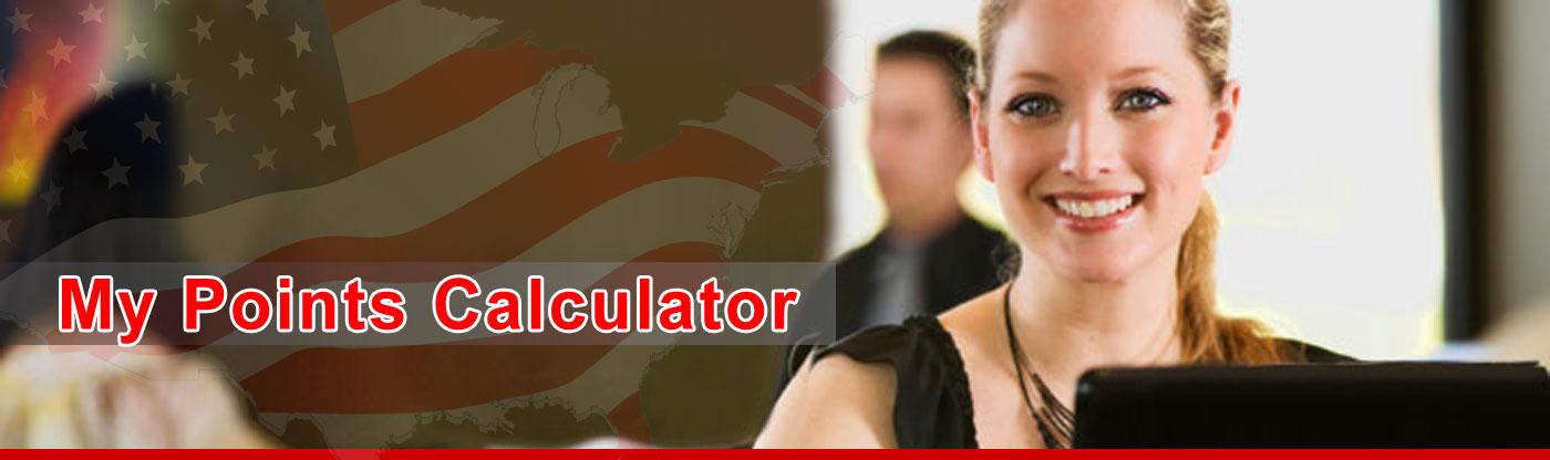 Subclass 189 visa points test calculator.