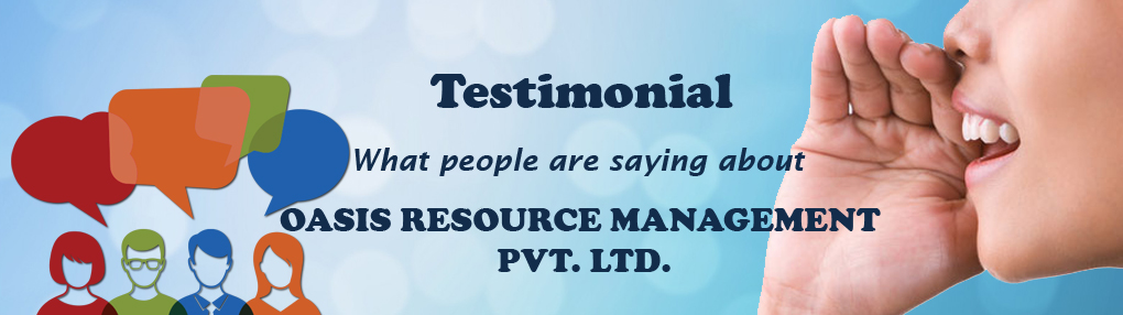 Oasis Resource Management Testimonials, Reviews and Feedbacks
